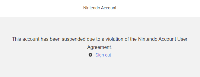Nintendo Switch Sign Out Of Fortnite This Is What Happens When Your Nintendo Switch Account Gets Banned Cnet