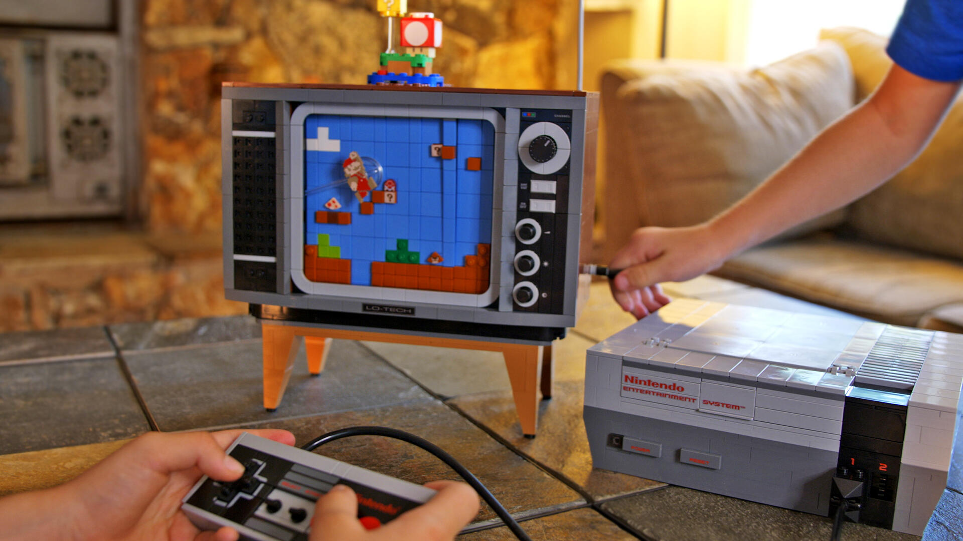 Video: We built the Lego Nintendo Entertainment System. How long did it take?