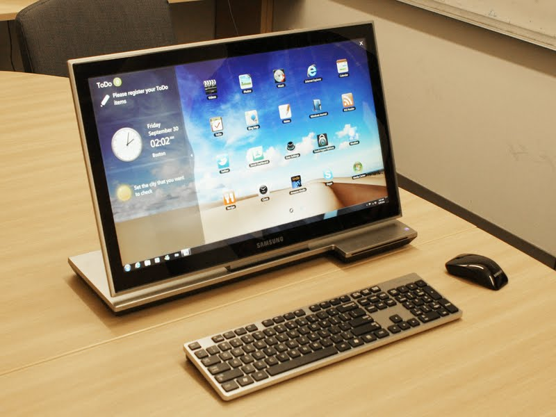 Samsung's first desktop for the U.S., the Series 7 All-in-One