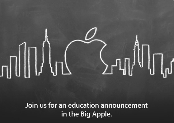 Apple's invitation for its January 19 event.
