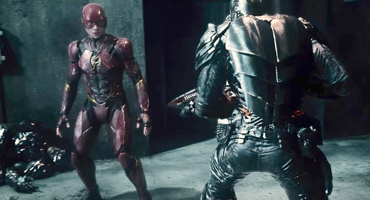 The Flash stands still for a second