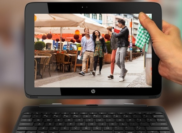 HP's Android-based SlateBook x2. A Google OS laptop may not be that radical in an Android-centric mobile world.