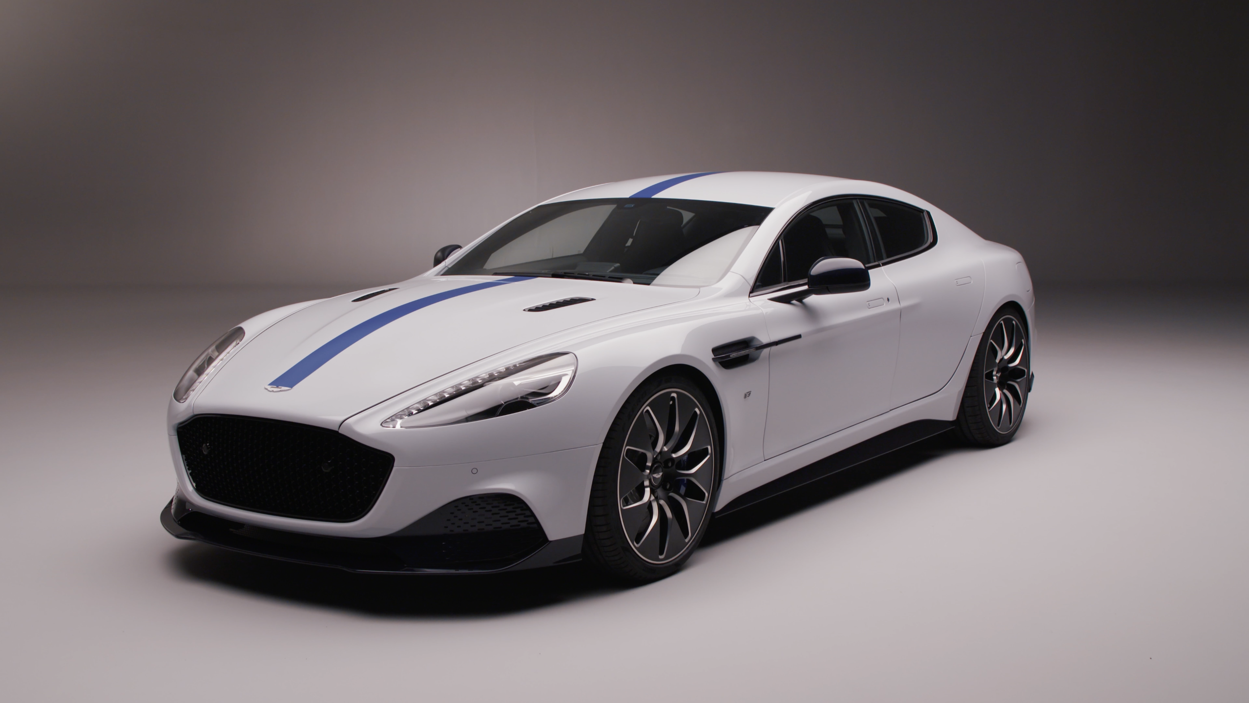 Video: The Aston Martin Rapide E ditches the V12 for an all-electric drive