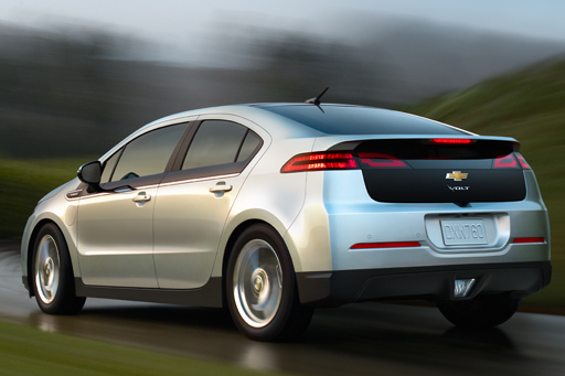 The Chevy Volt races to market.