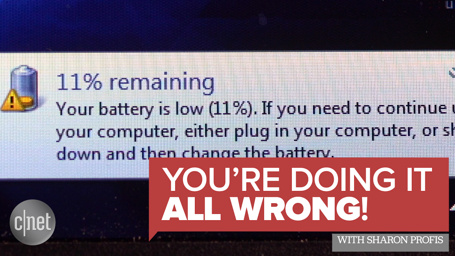 Video: How to make your laptop battery last longer
