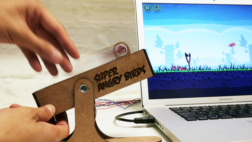 Super Angry Birds controller