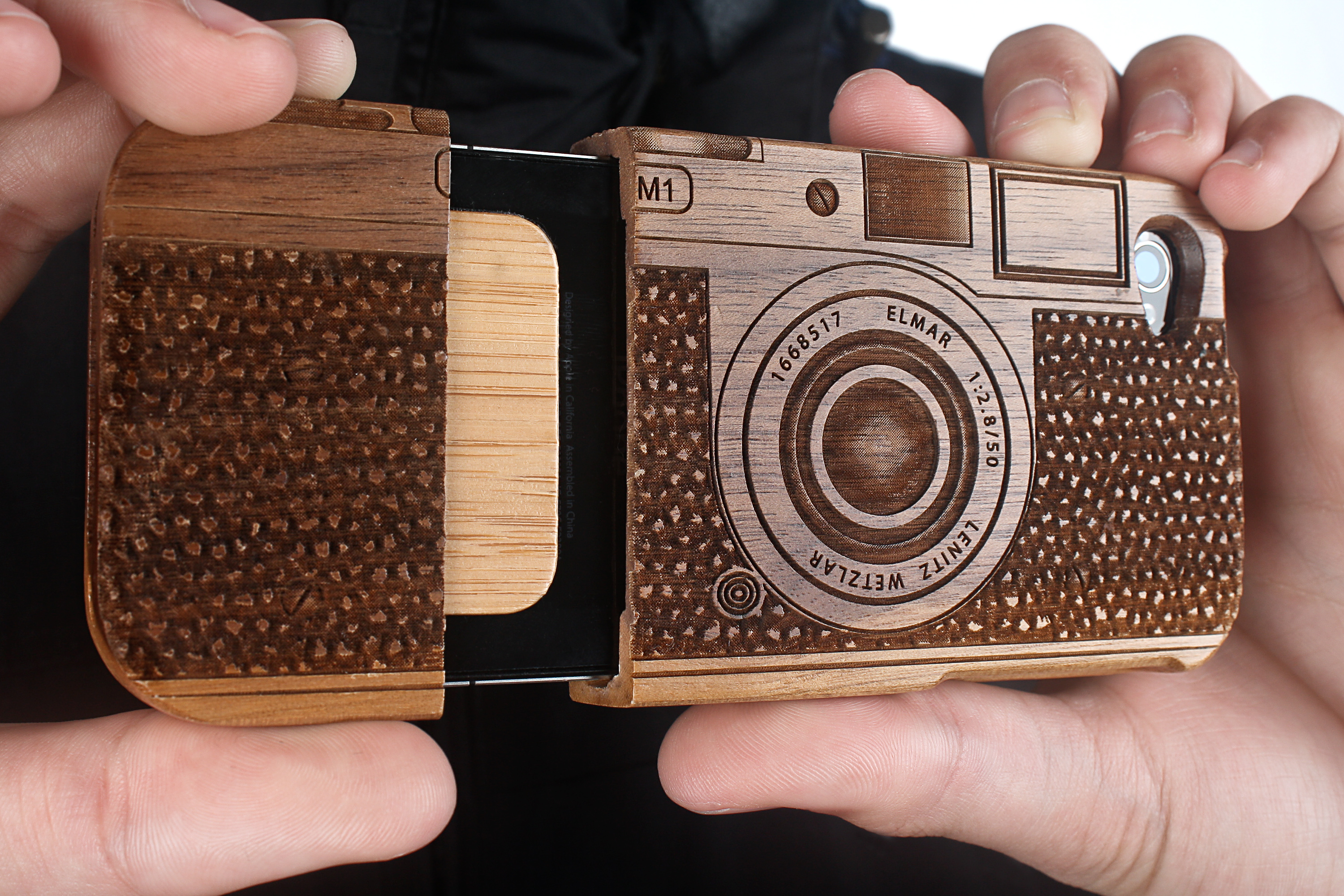 Wooden Camera iPhone case
