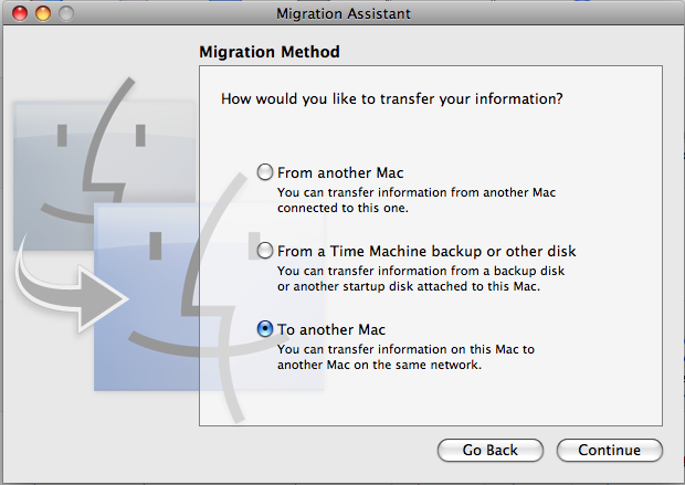 How to transfer data between Macs: 4