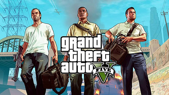 GTA V helped spur a gain in the gaming space last month.