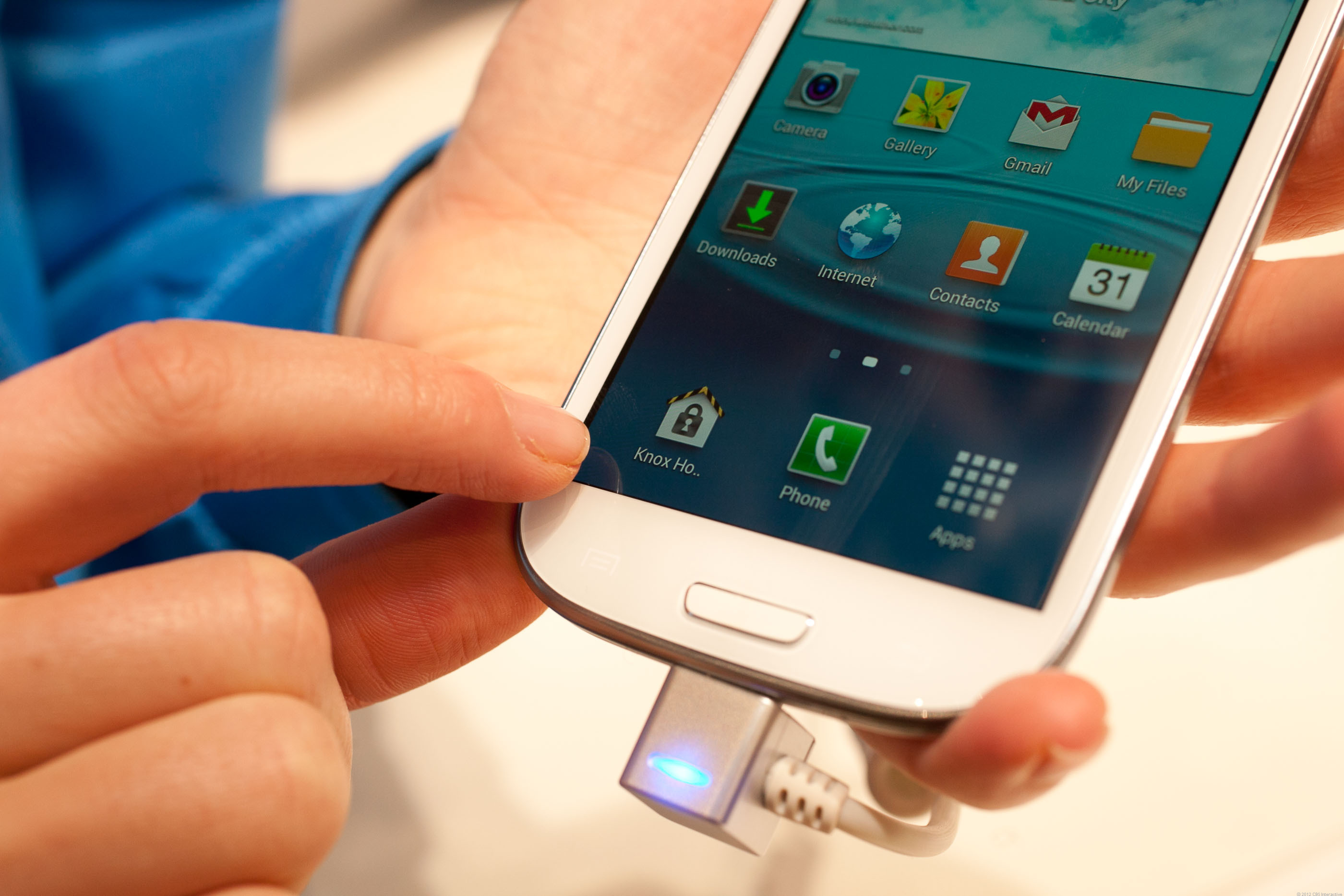 Samsung Knox in action