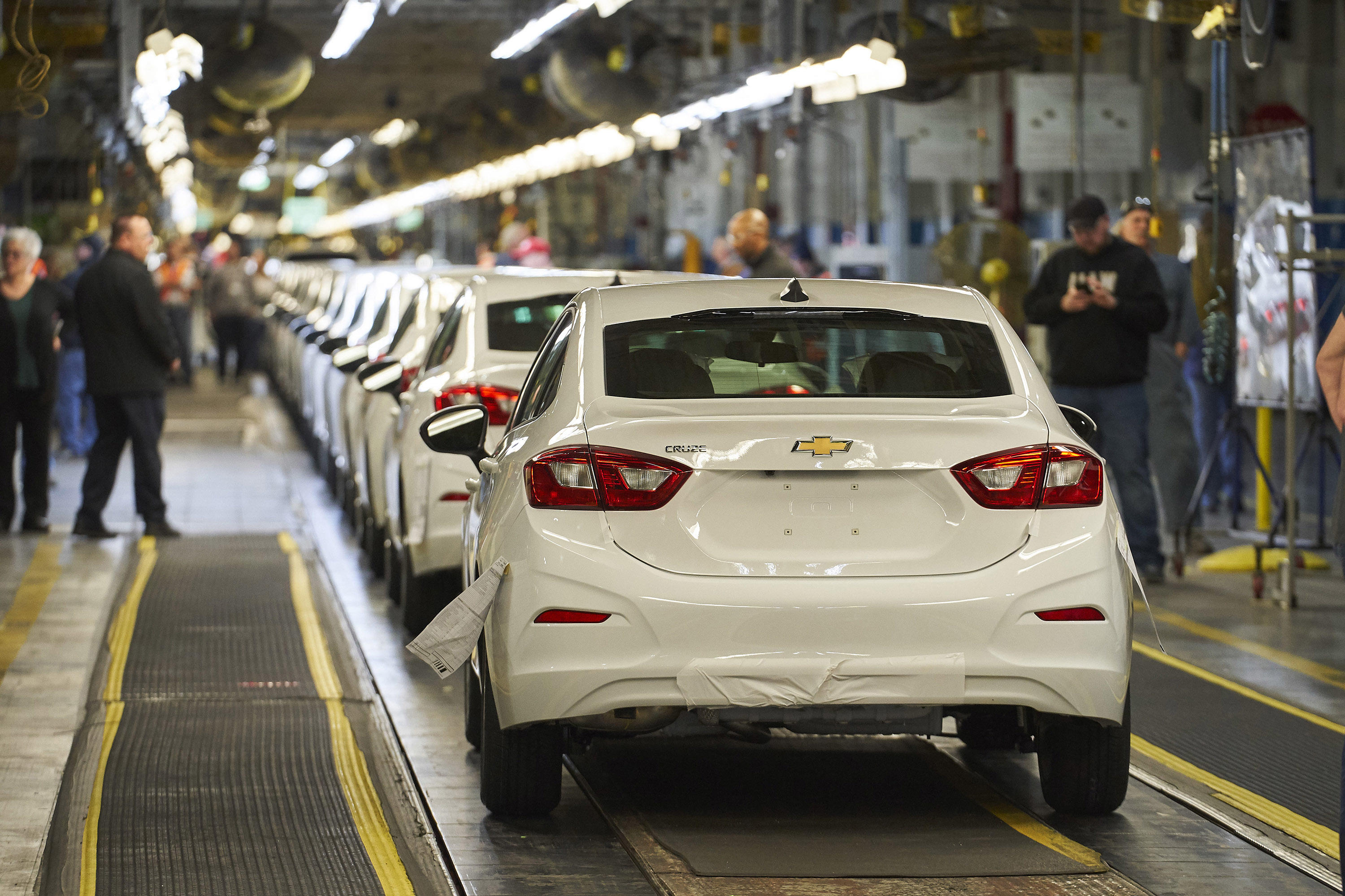 GM Lordstown plant final Chevy Cruze