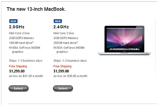 MacBooks new and old
