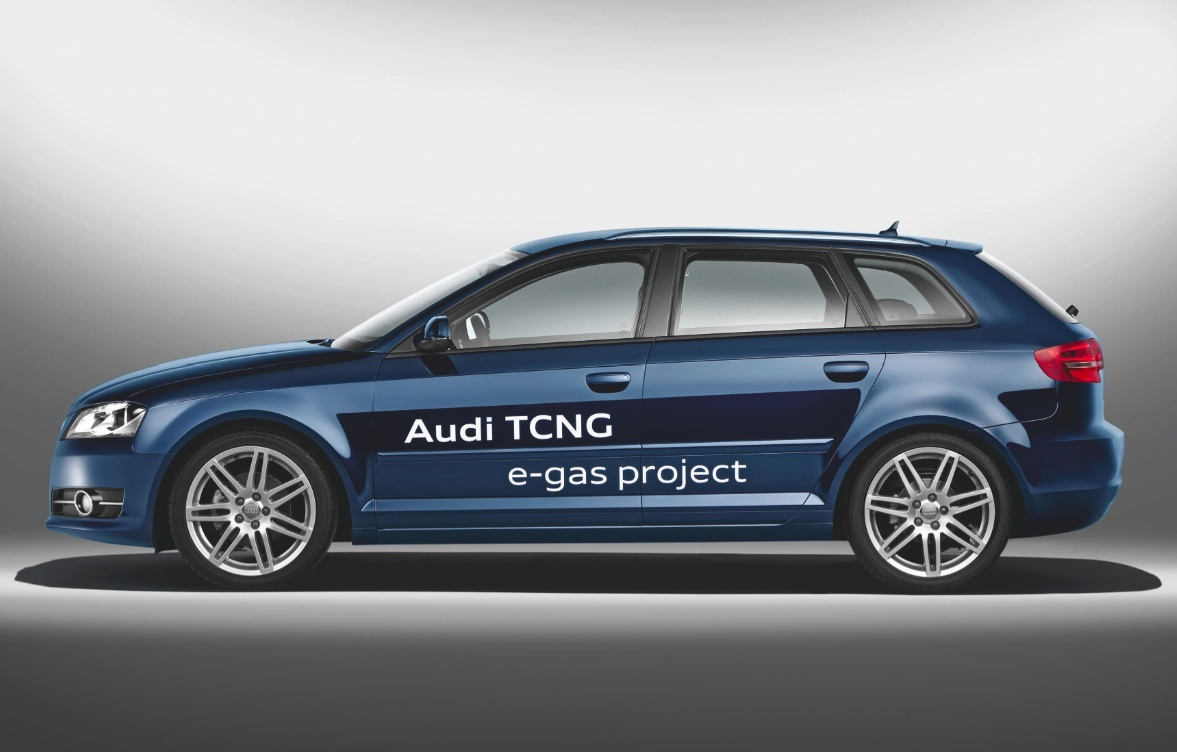 The Audi A3 TCNG will enter production in 2013.