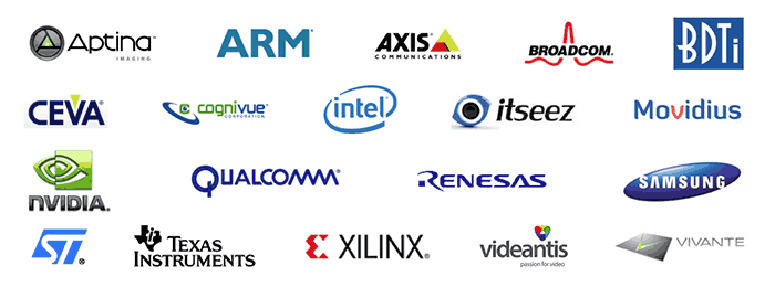 Participants in the OpenVX standard