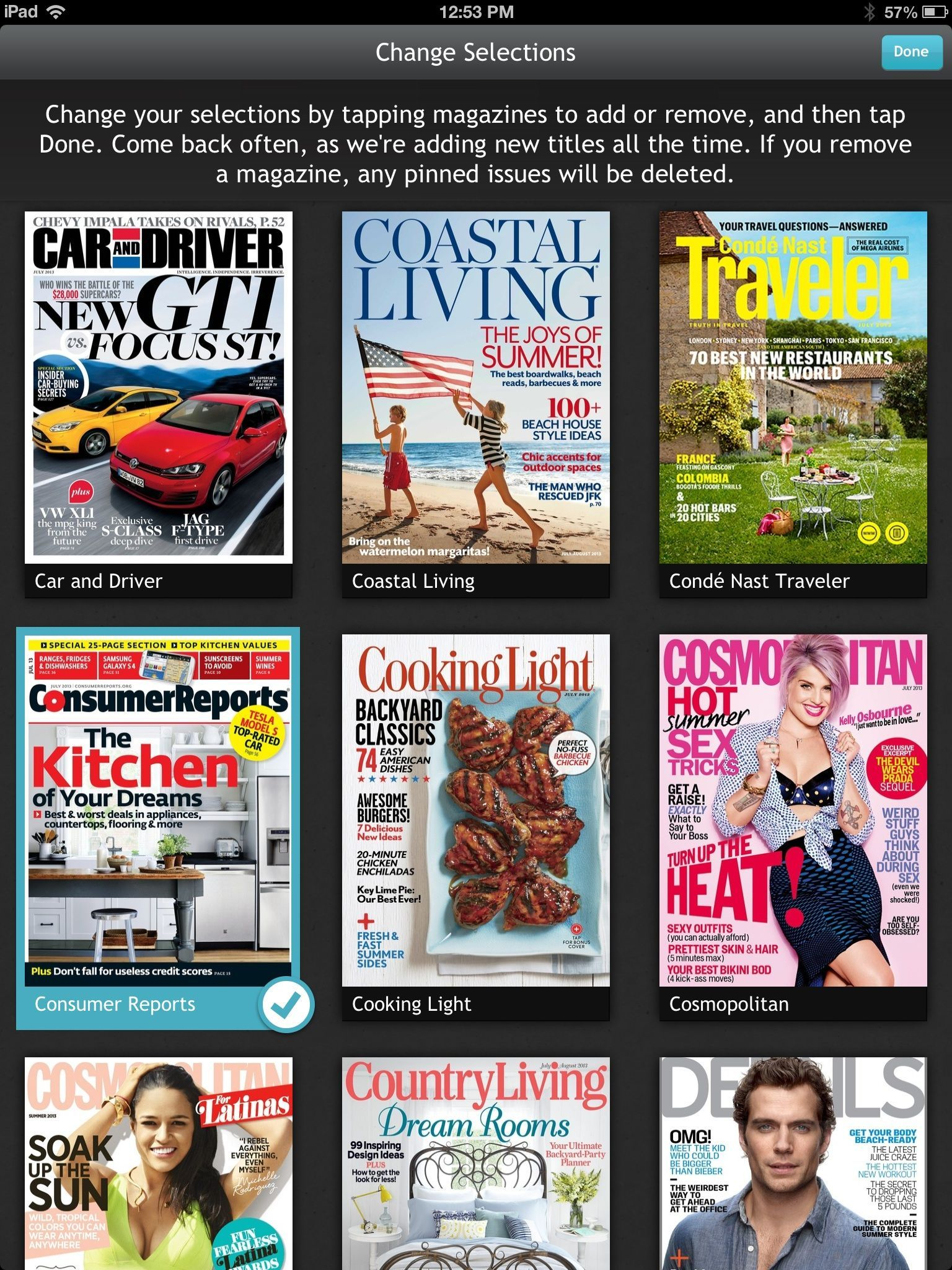 Next Issue now offers nearly 100 magazine selections via a Netflix-style subscription model.