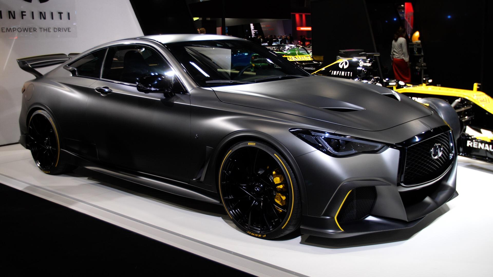 Video: Infiniti Project Black S incorporates Formula 1 tech for its latest concept