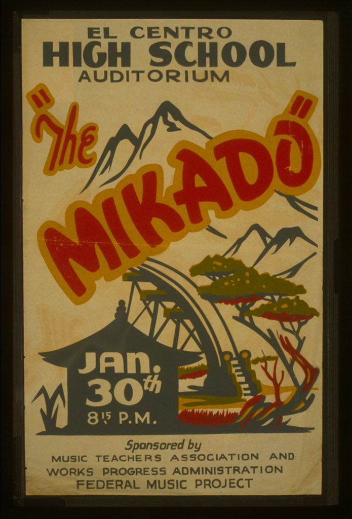 1885: 'The Mikado' opens