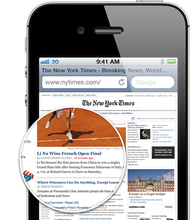 The Retina Display found in Apple's latest iPhones and iPods is rumored to be headed to the iPad 3.