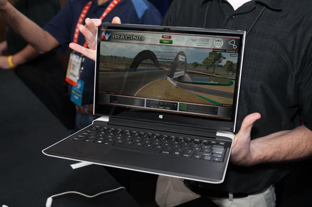 Intel's Haswell-based laptop 'concept' that was shown at CES 2013.
