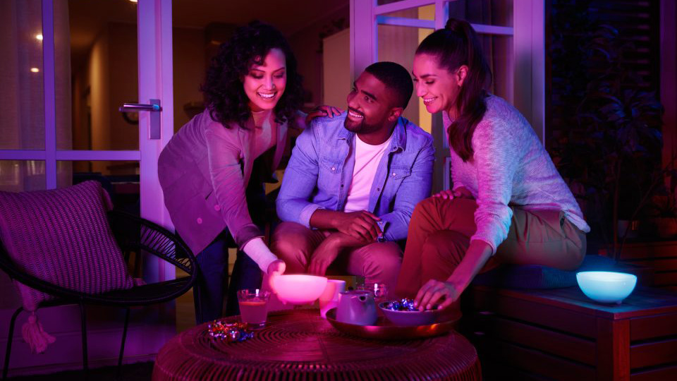 hue go | Philips Hue lamps, light strips and bulbs get rare discounts in mix-and-match sale | The Paradise