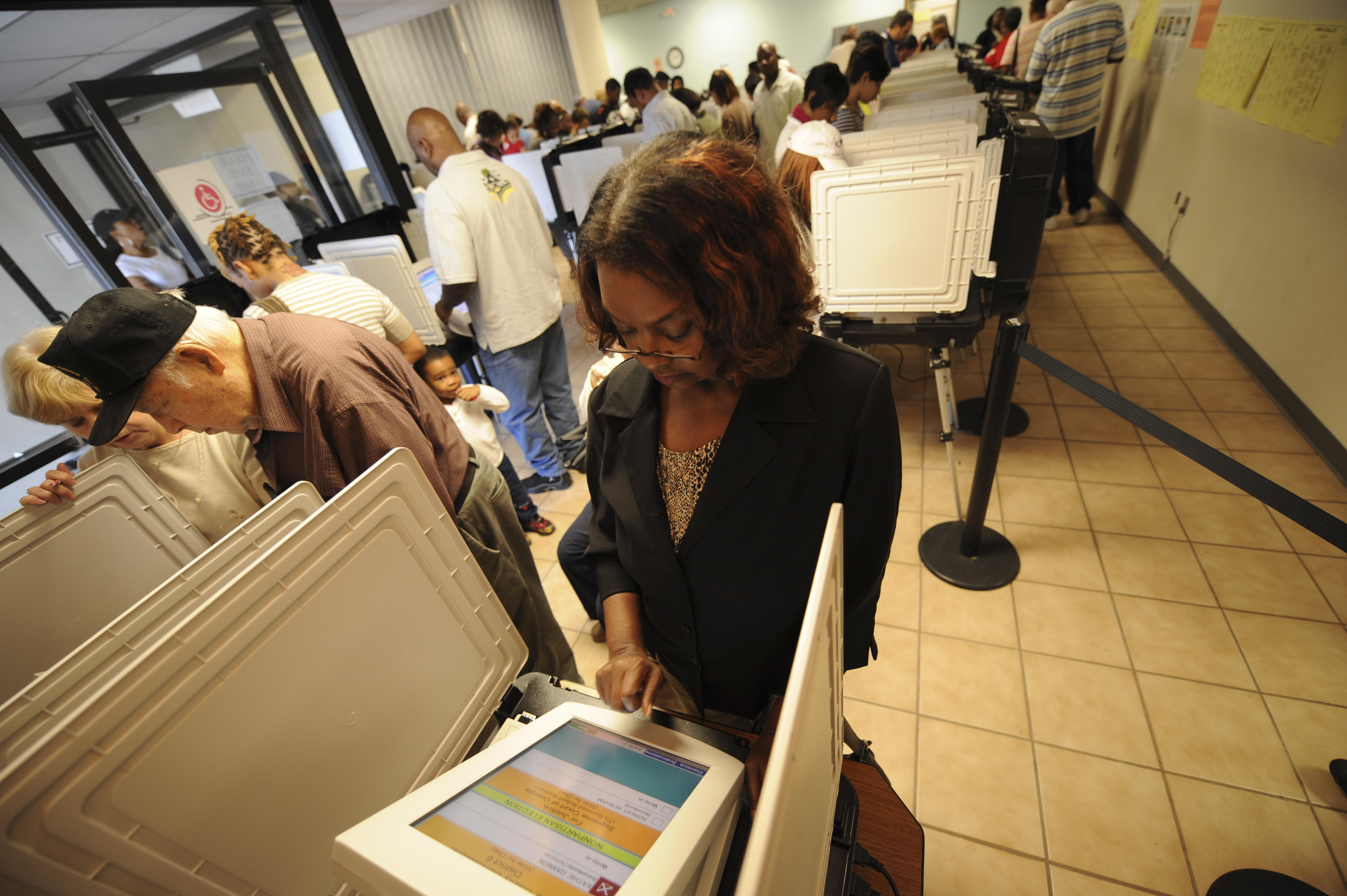 USA - 2008 Presidential Election - Early Voting