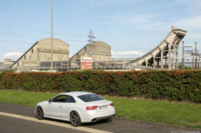 RS 5 and old Michelin test track