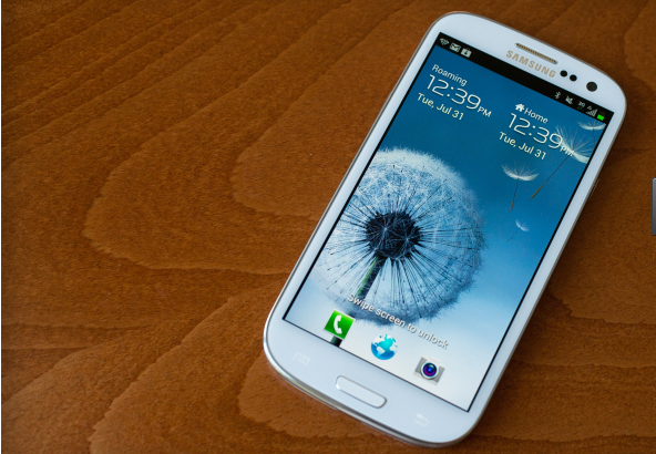 Samsung's Galaxy S3, one of many iPhone rivals.