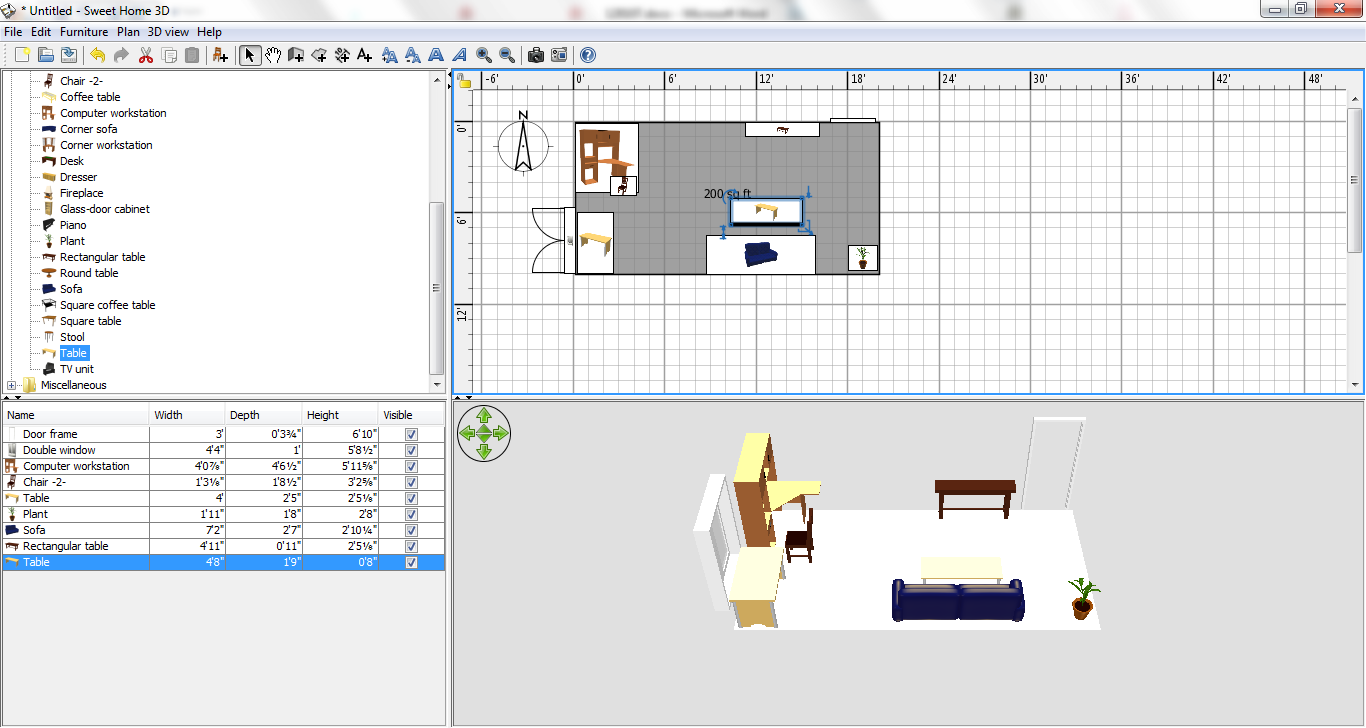 Step 5: View in 3D.