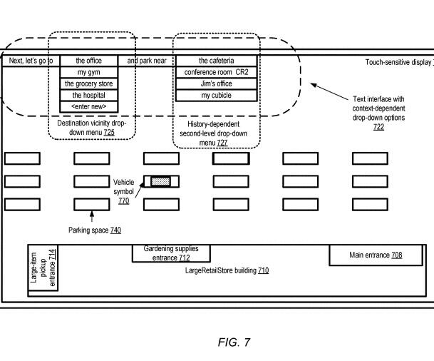 Apple voice and gesture command patent application for self-driving car