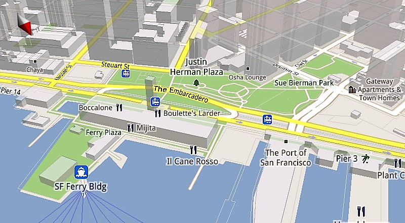 Google's Maps for Mobile 5 will feature vector graphics for 3D maps, faster performance, and offline caching.