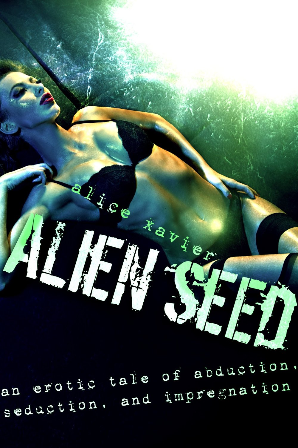 Aliens dominate this erotic thriller by Alice Xavier about an abductee that might enjoy probing too much.