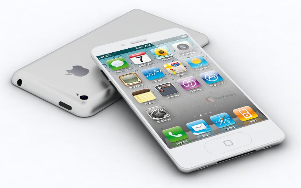 These mockups suggest an iPhone 5 design that's closer (at the rear, anyway) to the iPhone 3G.