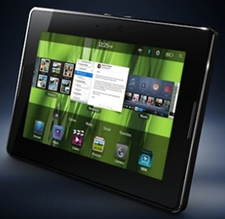 BlackBerry's first tablet gets a launch date and price tag.