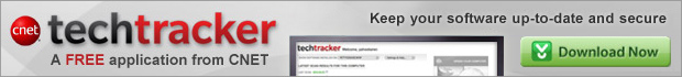 CNET TechTracker - Keep your software up to date.  Free download