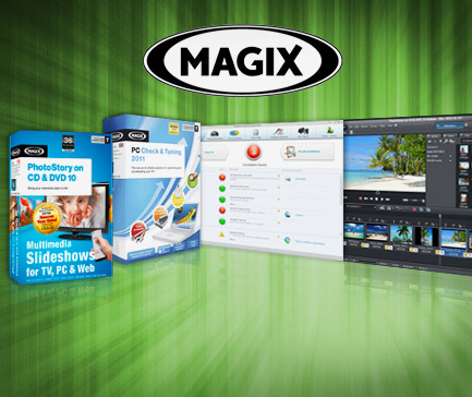 Click now to save 84% on Magix Photostory and PC Check & Tuning 2011!