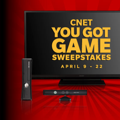 CNET YOU GOT GAME Sweepstakes: April 9 - 22