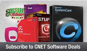 Subscribe to CNET Software Deals